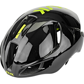 Kask Utopia Fietshelm, black/fluo yellow